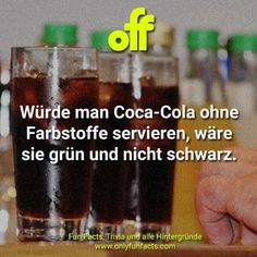 76 Fakten über Essen Mountain Dew, Pizza Hawaii, Coca Cola, Food Facts, Shot Glass, Tableware, Facts Of Life, International Space Station, Unbelievable Facts