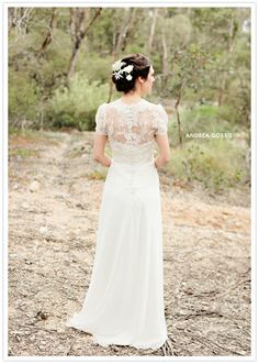 Andrea Gorrie wedding dress