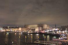 Stockholm, Sweden. The royal castle.