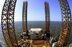 Ukrainian border guards spotted Russia's gas drilling rigs in Ukraine's marine economic zone in the Black Sea.