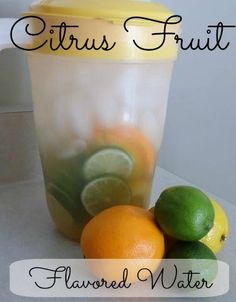 Want to be skinny and healthy? This is one of the most important steps? Drink more water with this Amazing & Refreshing Citrus Flavored Water...