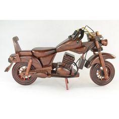 Drevená motorka