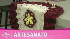 Vida com Arte | Flor de seda em crochê por Flávio Adalto - 01 de julho d...