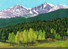 Dan Miller「Longs Peak」
