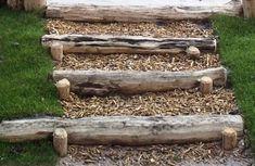 Boomstammen trap - Speelnatuur