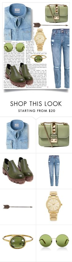""""""":$"""" by abecic ❤ liked on Polyvore featuring MANGO, Valentino, H&M, Creative Co-op, Michael Kors, Solow, Victoria, Victoria Beckham, women's clothing, women and female"""