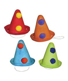 Look what I found on #zulily! Pierrot Felt Hat Set #zulilyfinds