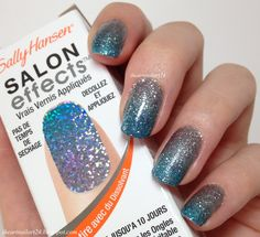 Sally Hansen Salon Effects Nail Polish Strips Review.