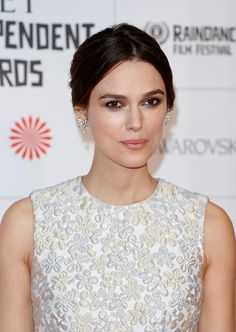 Keira Knightley Pearl Drop earrings