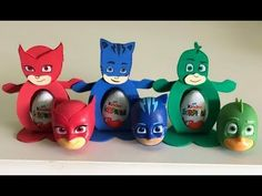 Festa Pj Masks, Paper Factory, Rubber Duck, 5th Birthday, Babys, Biscuit, Party Ideas, Cartoon, Kids Playing