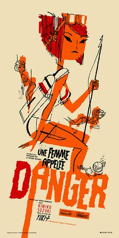 Danger is a Female (French) by Kevin Dart