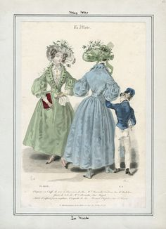 La Mode May 1830 LAPL