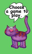 Pick and choose a game in math.  This could be for lower elementary, too.  Cute games!!  Kids will love them.