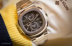 Hands-On With The Patek Philippe Nautilus Chronograph Travel Time 5990A — HODINKEE - Wristwatch News, Reviews, & Original Stories