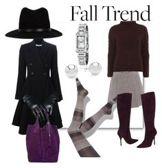 """""""Fall into Purple"""" by deirdreschoice on Polyvore featuring Simply Vera, Roberto Cavalli, Dorothy Perkins, Burberry, rag & bone and Givenchy"""