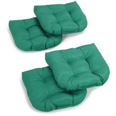 klear vu gripper delightfill 2 pack twill chair cushions found at