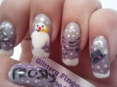 Glittery Fingers & Sparkling Toes: Frosty the Snowman