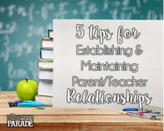 The First Grade Parade: Building Relationships (The Teacher-Parent Edition) Teacher Blogs, Teacher Hacks, Teacher Organization, Back To School Activities, School Ideas, School Fun, School Stuff, First Grade Parade, My Favourite Teacher