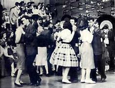 American Bandstand - after school at Cookie Harvey's house