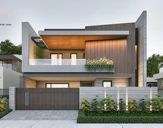 Best Modern House Design, Modern Villa Design, Modern Exterior House Designs, Latest House Designs, Bungalow House Design, Modern Bungalow Exterior, Modern House Facades, Modern Bungalow House, Modern Architecture House