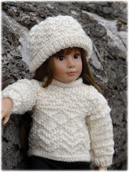 'Whidbey' ~ gansey sweater pattern from Debonair Designs--love all her patterns
