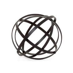 Torre & Tagus Atlas Sphere Sculpture, Medium