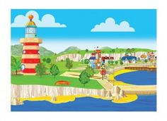 <p>Your child can use this Lighthouse and Salty Cove puppet theatre backdrop, with the separate Pip Ahoy! character finger puppets we've designed. <em>Please ensure ALL cutting out is performed with an adult!</em></p>
