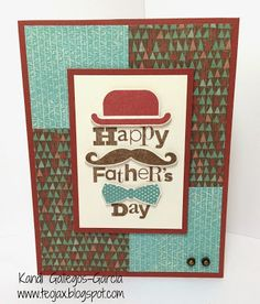 "teojax: ""Happy Father's Day"" card, Close to My Heart, CTMH, Jackson, A1173 The Best Dad Ever"
