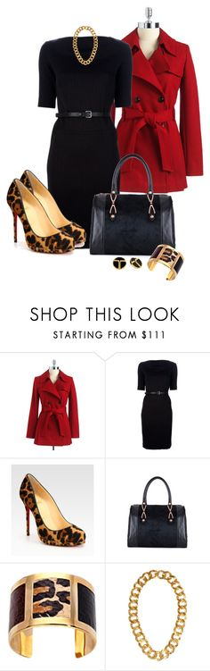 """Leopard Shoes"" by averbeek ❤ liked on Polyvore featuring Via Spiga, Emporio Armani Jeans, Christian Louboutin, Trina Turk, Ted Baker, Aspinal of London and Kenneth Jay Lane"
