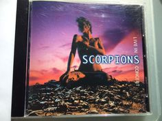 Scorpions Live Concert rare CD for sale $3-$5 in Vancouver BC on the PeerRenters app download on the app store.