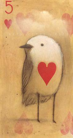 Hearted Bird by SethFitts on DeviantArt