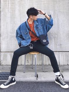 casual outfits for winter . casual outfits for women . casual outfits for work . casual outfits for school . Korean Fashion Summer, Korean Fashion Men, Retro Fashion Mens, Korean Men, Kpop Fashion Male, Korean Summer, Mode Outfits, Casual Outfits, Fashion Outfits