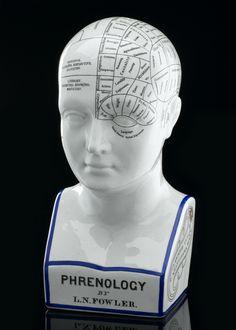 Fowler's Phrenological Head