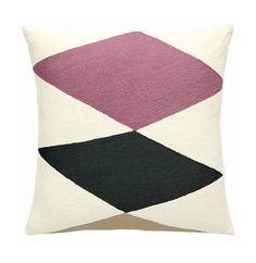 Ace Cream/Dusty Pink/Blonde/Charcoal Pillow
