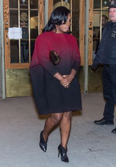 We recognize the most frozen people on the streets at fashion week, including Uzo Aduba.