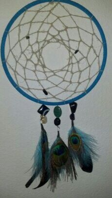 The first Dreamcatcher I made specifically for my daughter, Elliana.