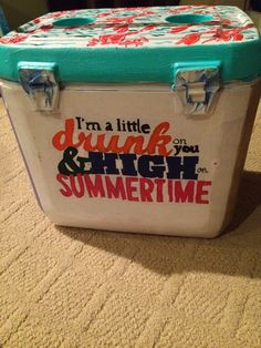 PurduePrep: Summer Crafting: My First Cooler