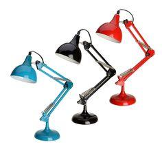 Schreibtischlampe Stahlfeder