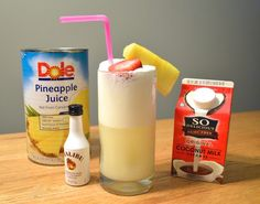 Piña Colada | 25 Tasty Cocktails With Three Ingredients Or Less