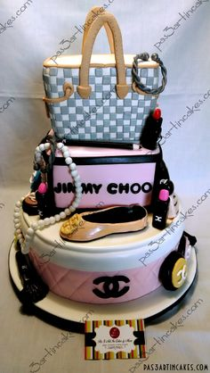 Chanel, Jimmy Choo & Louis Vuitton Cake!!