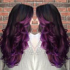 50 Purple Ombre Hair Suggestions For Brunettes Blondes Or Redheads Find Your Ideal Black To Hairstyle Rainbow Inspiration And Much