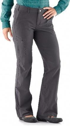 43adae56809 REI.com women s Sahara PETITE hiking pants - size 2. in color pewter green