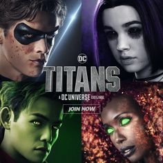 Teen Titans is now a movie I am sobbing 😭😭😭😭😭 Deathstroke, Dc Universe, Teen Titans Raven, Teen Titans Go, Nightwing, Batwoman, Jason Todd, Harley Quinn, Titans Tv Series