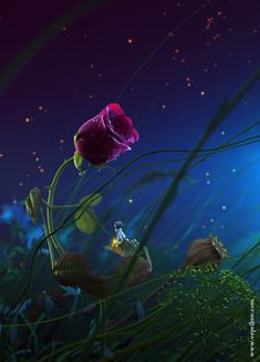Outlandish reality: Bizarre digital art by Nikita Veprikov Good Night Image, Good Morning Good Night, Good Night Wishes, Good Night Moon, Good Night Quotes, Art Floral, Fotos Do Face, 3d Rose, Good Night Sweet Dreams