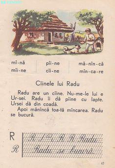 Abecedar 1959 – Un zâmbet de copil… Vintage School, Alphabet Worksheets, Kids Education, Book Illustration, Homeschool, Nostalgia, Old Things, Parenting, Learning