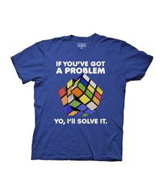 Another great find on #zulily! Blue 'Yo, I'll Solve It' Tee by  #zulilyfinds