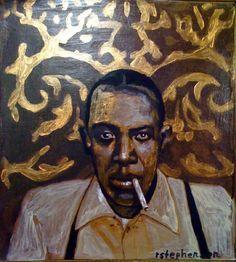Robert Jonhson Painting by Ray Stephenson - If you'd like this original artwork, please E-Mail RayboMusic@bellsouth.net today! ○○○ #BluesMusic #Art #Nashville #Tennessee #Artist #acrylic #Music #guitar #RobertJohnson #paintings #ForSale #DeltaBlues #art #RayStephenson #painting #countrymusic #Blues #CrossRoadBlues #art #artwork #original #ArtForSale #BluesMusicArt #songwriter #BluesArt #Mississippi #acrylic #RobertJohnsonPainting