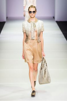 Giorgio Armani Spring 2015 Show   Milan Fashion Week   POPSUGAR Fashion