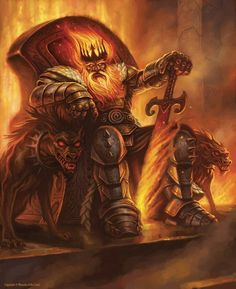 """The Dwarven King is not only the Dwarfs King but also the Mountains.  """"It is I who shall rule the Mountains"""""""