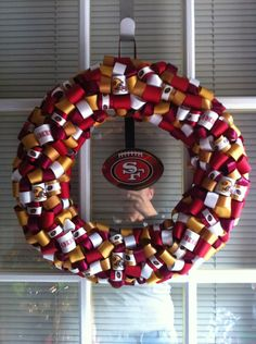 Super Bowl Party 49ers Decor